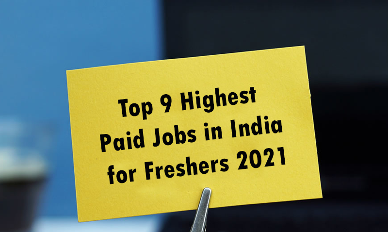 highest-paid-jobs-for-freshers-2021